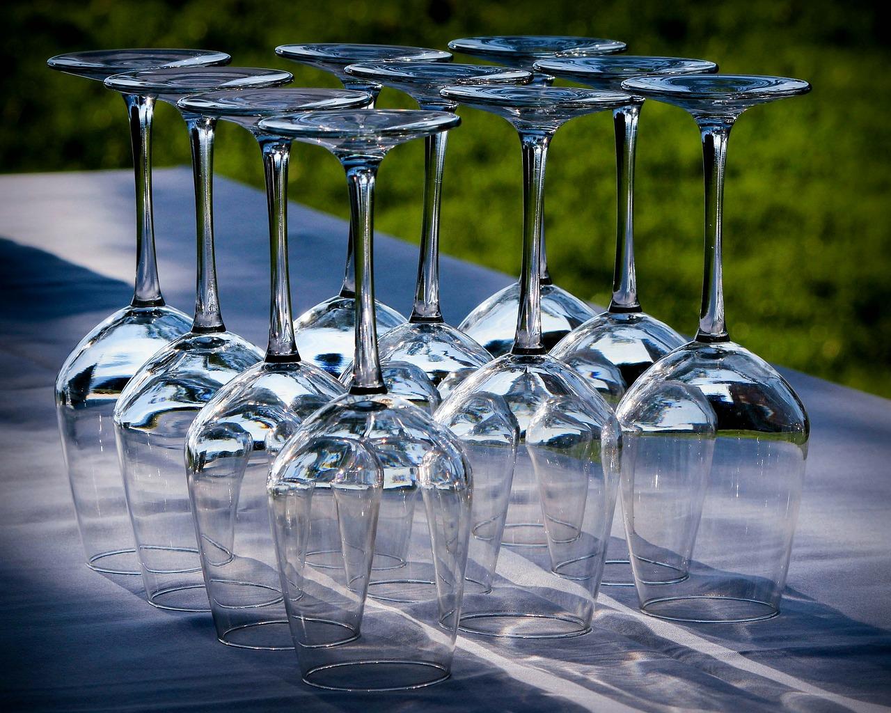 Les différents types de verres à vin